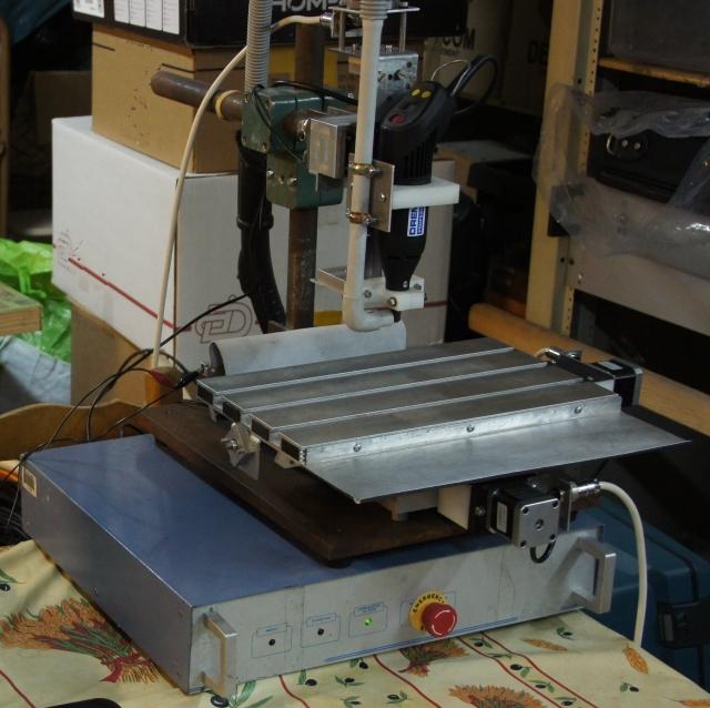 Homebrew CNC mini-mill