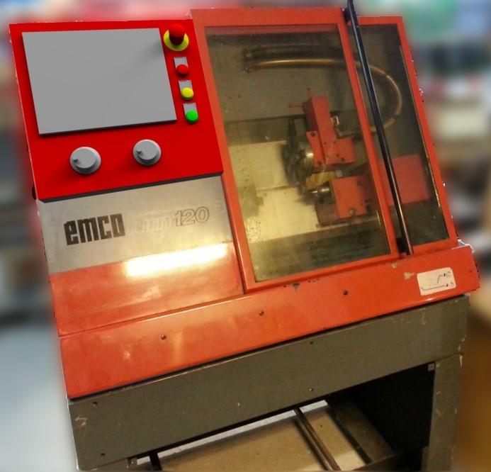 EMCO 120P Fake Control panel