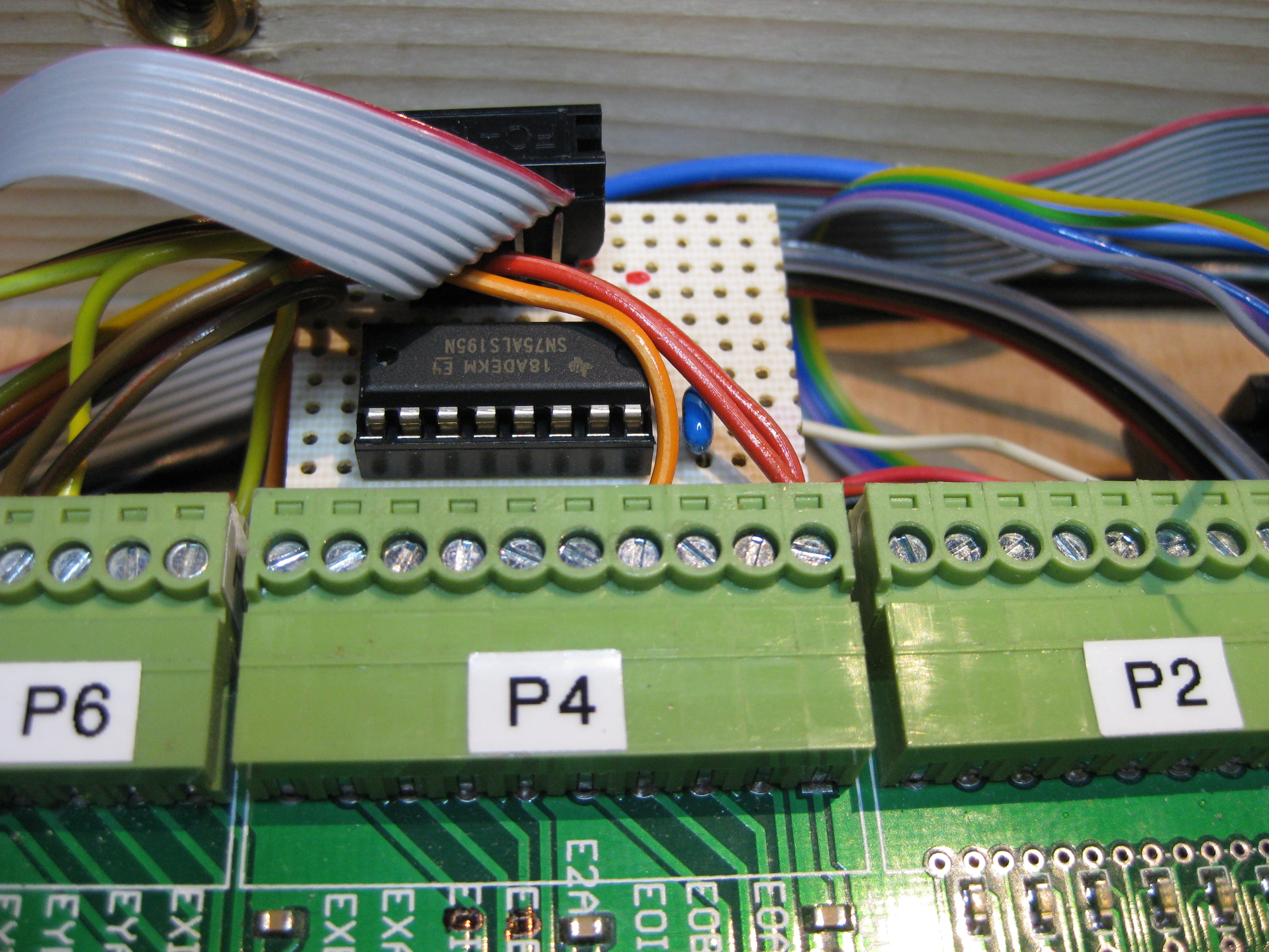 F1oat Cnc Experiments Picaxe Serial Cable Wiring In Addition Pc Plc Programming Rs 422 To Ttl Level Conversion With A 75als195n